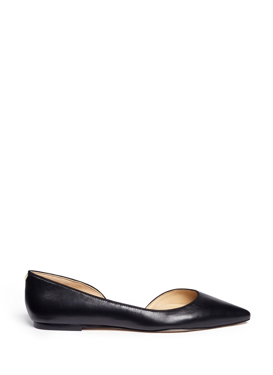 d501d4e1284e SAM EDELMAN  Reema  D Orsay Leather Flats.  samedelman  shoes  flats ...