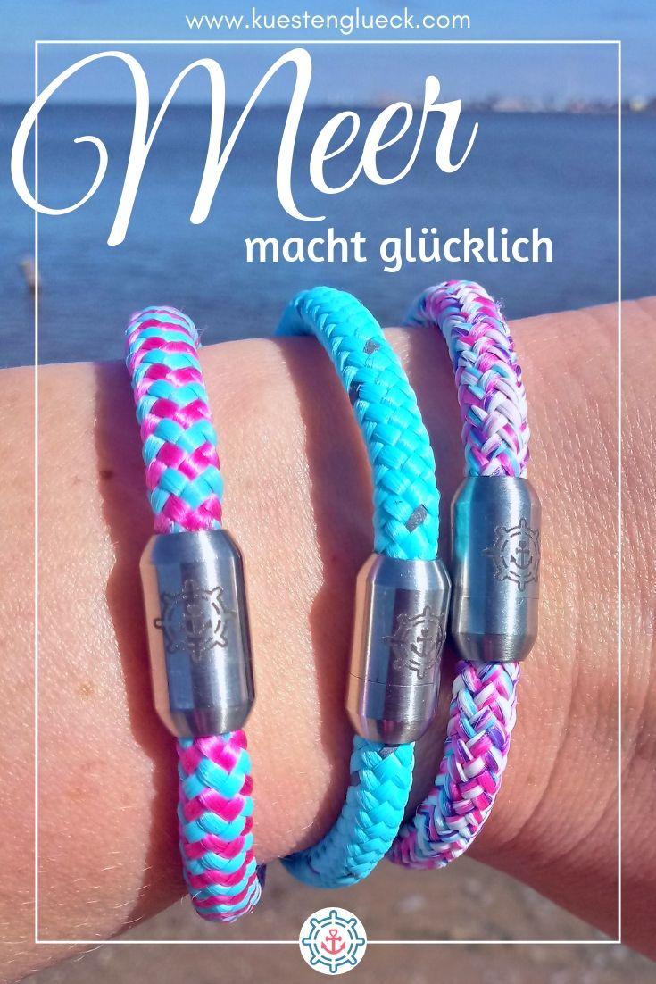 Segeltau Anker Armband NEU Handarbeit Herren Frauen Damen Surfer Style