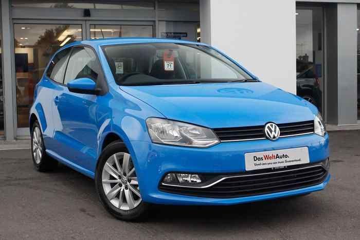 Mayan Blue Volkswagen Polo Mk5 Hatchback 3 Dr Volkswagen Polo