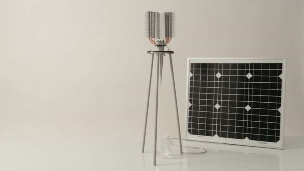 A Dutch Artist And Inventor Develops A Solar Powered Water Maker With No Moving Parts And Says He Expects It To Run For Decade Solar Power Solar Water From Air