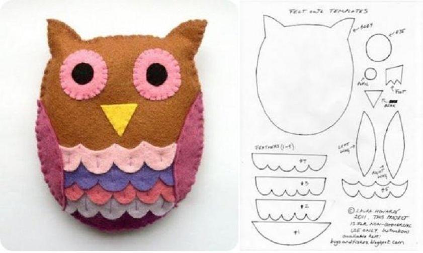 Diy Little Felt Owl Template Diy Projects  UsefuldiyCom Follow
