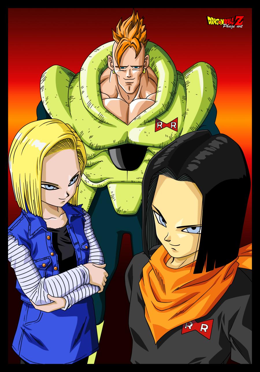 Dragon Ball Z Androids Anime Dragon Ball Manga Anime