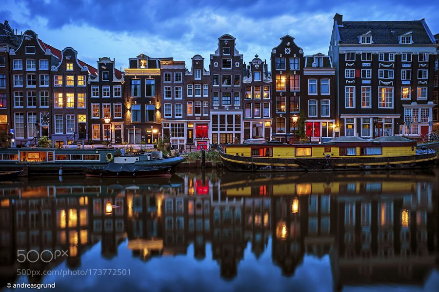 Colors of Amsterdam by dragrund