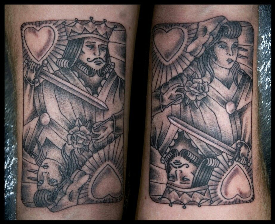15 Stylish Playing Card Tattoos For Women And Men