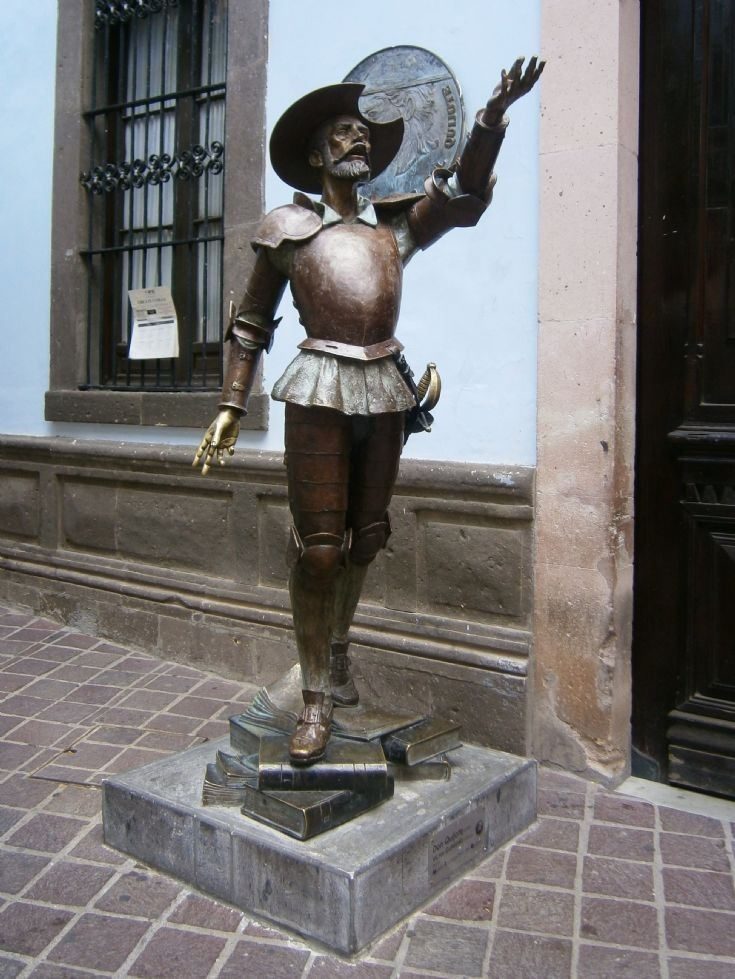 Statue Of Don Quixote