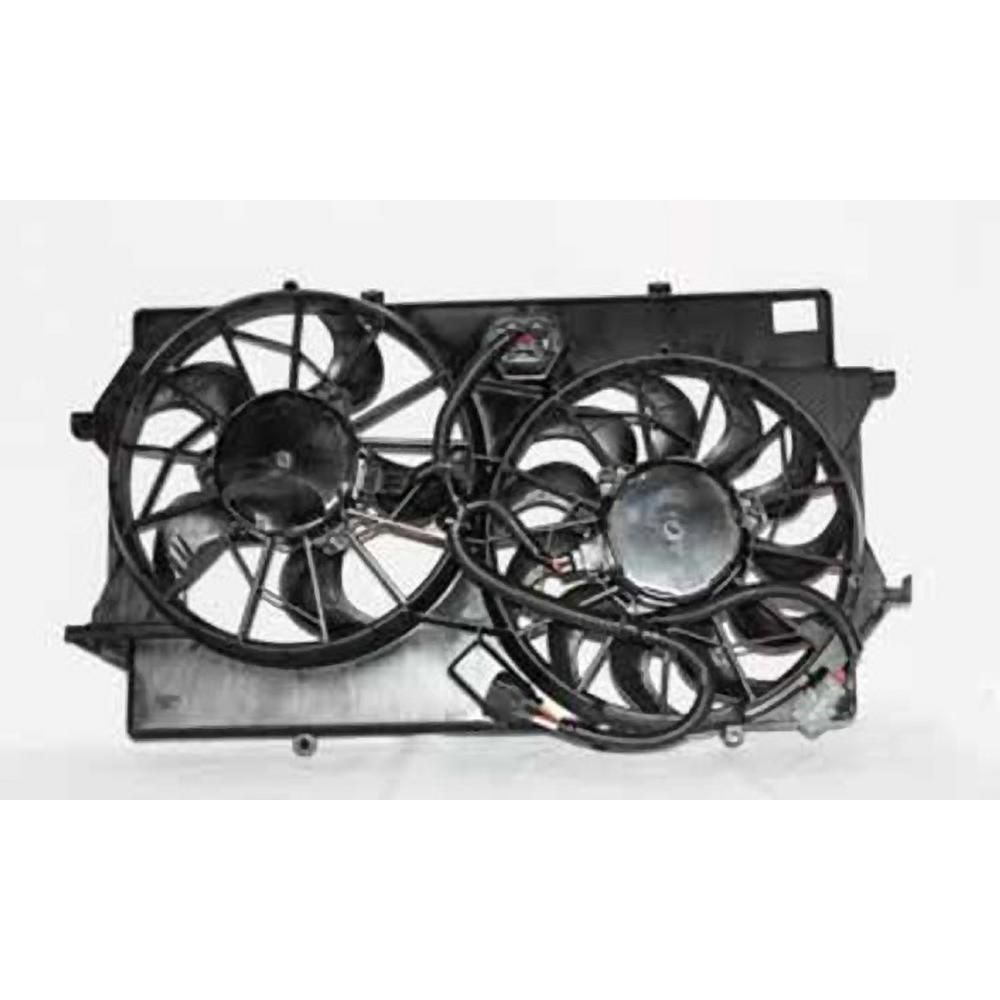 Tyc Dual Radiator And Condenser Fan Assembly 2005 2007 Ford Focus 2 0l 621310 The Home Depot Tyc Hot Rods Cars Muscle Ford Focus 2