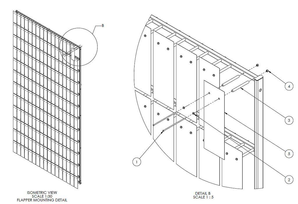 Progress Photo Building Ned Kahn S Kinetic Facade In Calgary Facade Kinetic Architecture Wall Decor Design