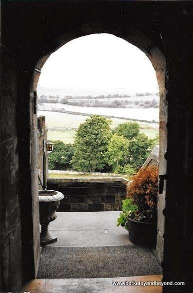 view from Borthwick Castle in Midlothia, Scotland; http://travelswithcarole.blogspot.com/2015/04/great-sleeps-borthwick-castle-hotel.html