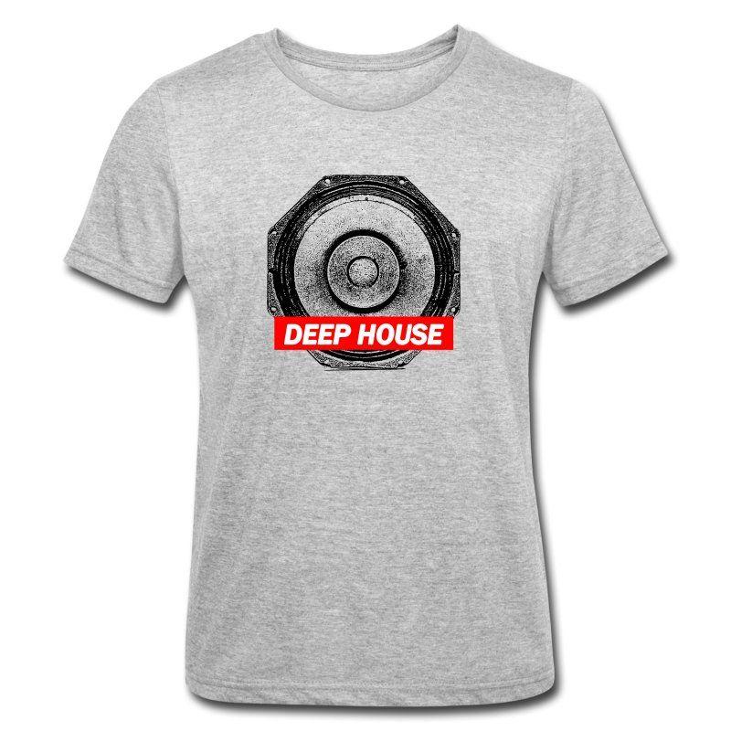 Techno T Shirt Deep House Bass Box Streetwear Manner Polycotton