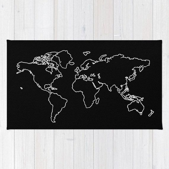 Explore world map rug or bath mat 2 styles 2 colors baby room explore world map rug or bath mat 2 styles 2 colors gumiabroncs Image collections