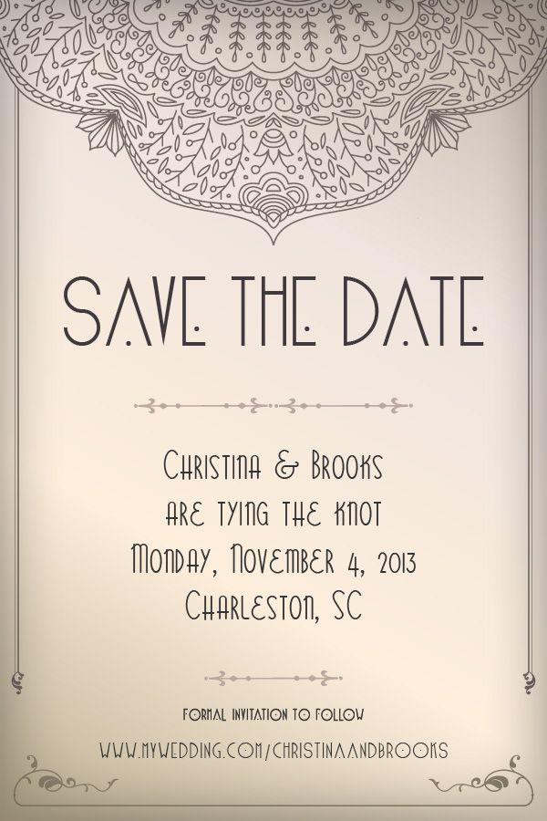 updated text and formal invitation to follow design inspiration