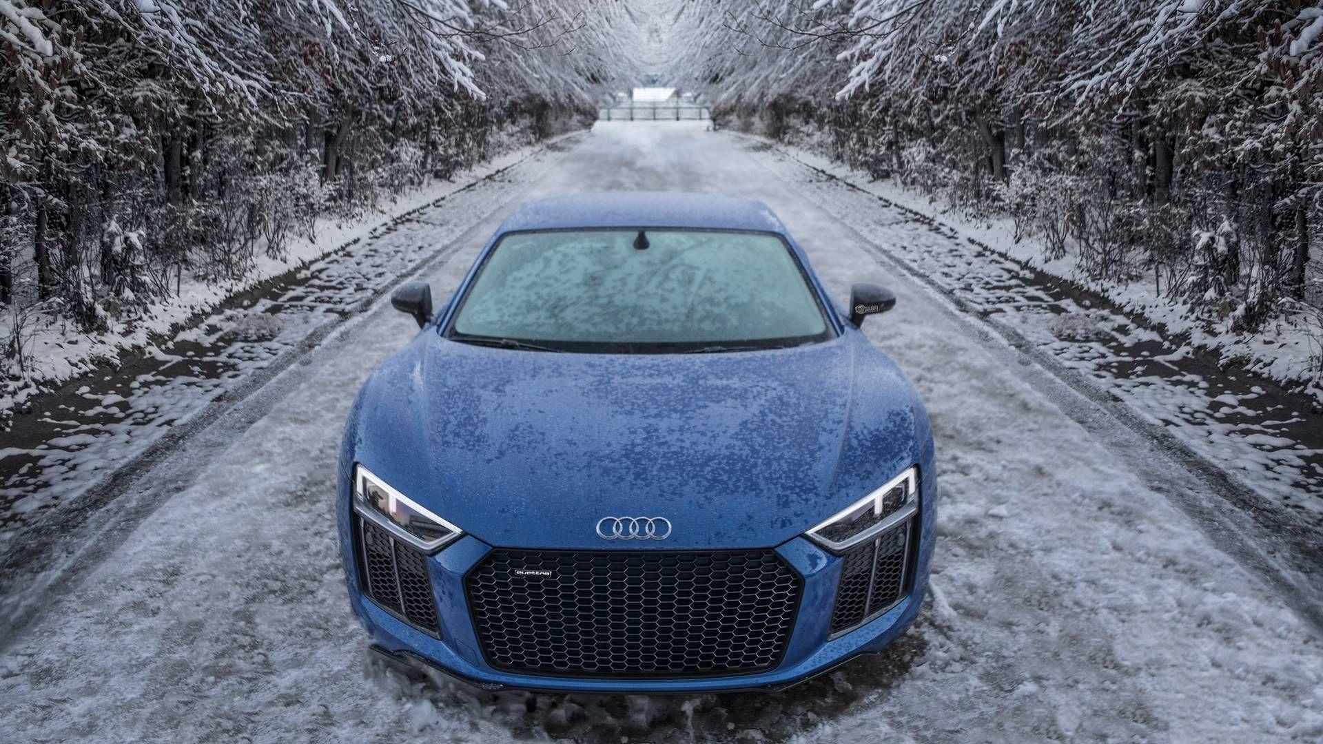 R8 In The Snow Audi R8 Snow Fun Sportscars Supercar Fastcars Drive Audi Cars Audi Rs7 Black Audi