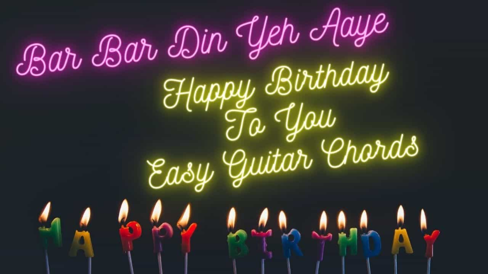 Baar Baar Din Yeh Aaye/ Happy Birthday To You, bar bar din