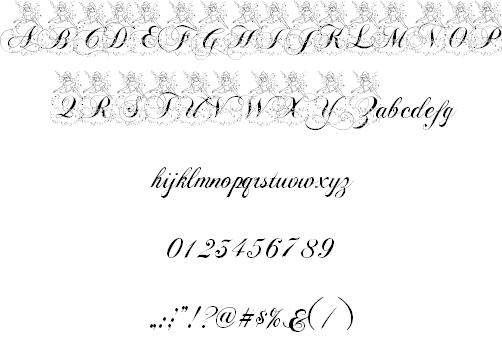 "Bevorzugt Cinderella"" font. See 500+ ideas for scrapbooking Cinderella's  AD58"