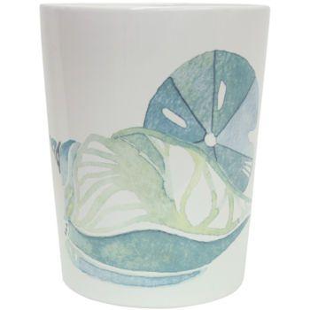 Bacova La Mer Bath Collection Seashell Bathroom Accessories