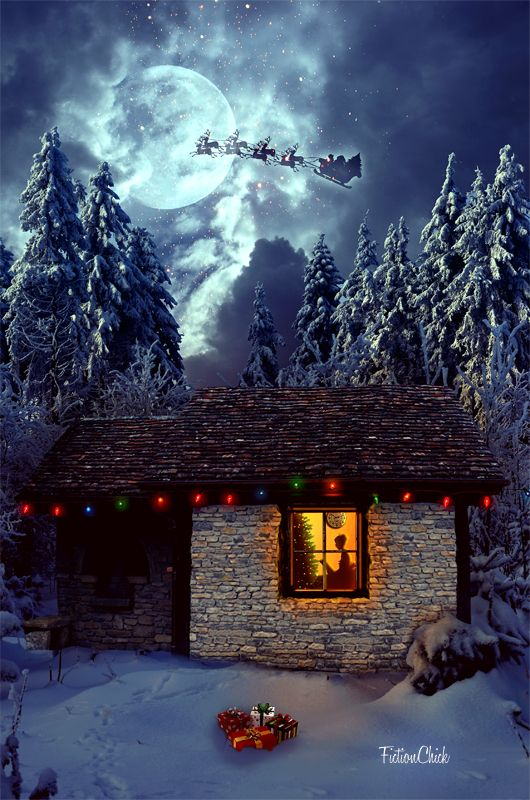 Christmas Night by FictionChick on DeviantArt