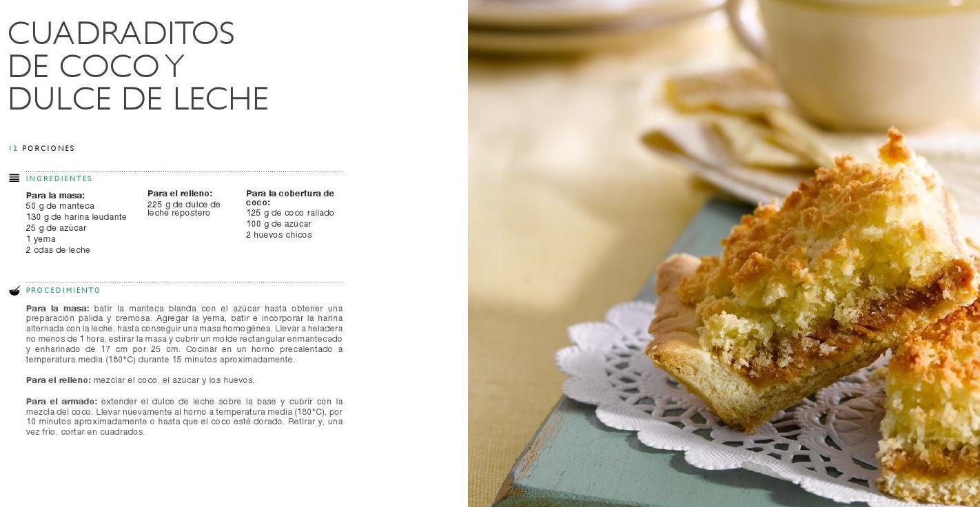 #ClippedOnIssuu from La Serenísima presenta un libro de recetas por su  85º aniversario