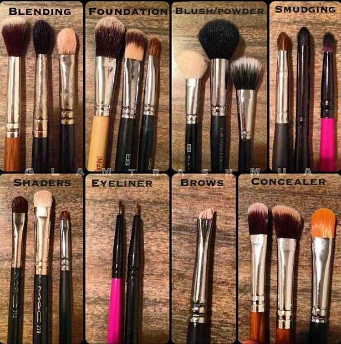 Pin by Amber NáChelle on M•A•K•E•U•P Makeup brushes