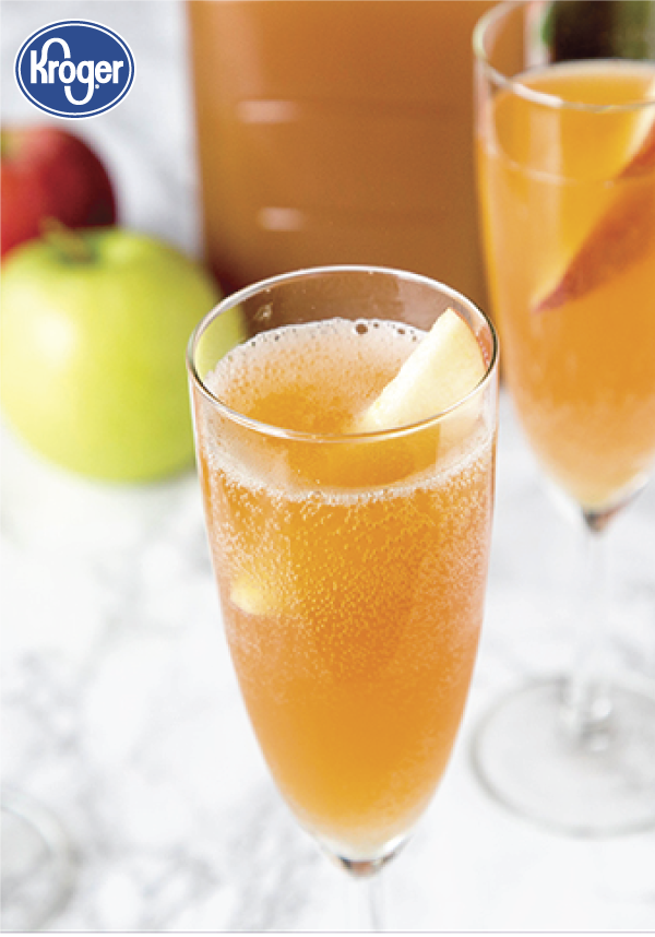 Apple Cider Mimosas レシピ 紅茶