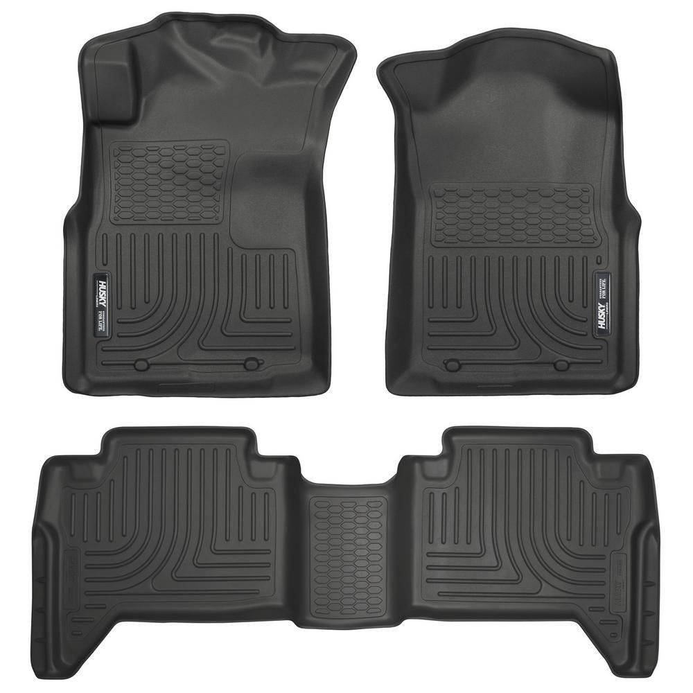 Husky Liners Front & 2nd Seat Floor Liners Fits 0515