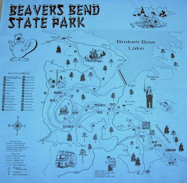 Beavers Bend State Park Map beavers bend state park | OK | Pinterest | Beaver bend, Beavers  Beavers Bend State Park Map
