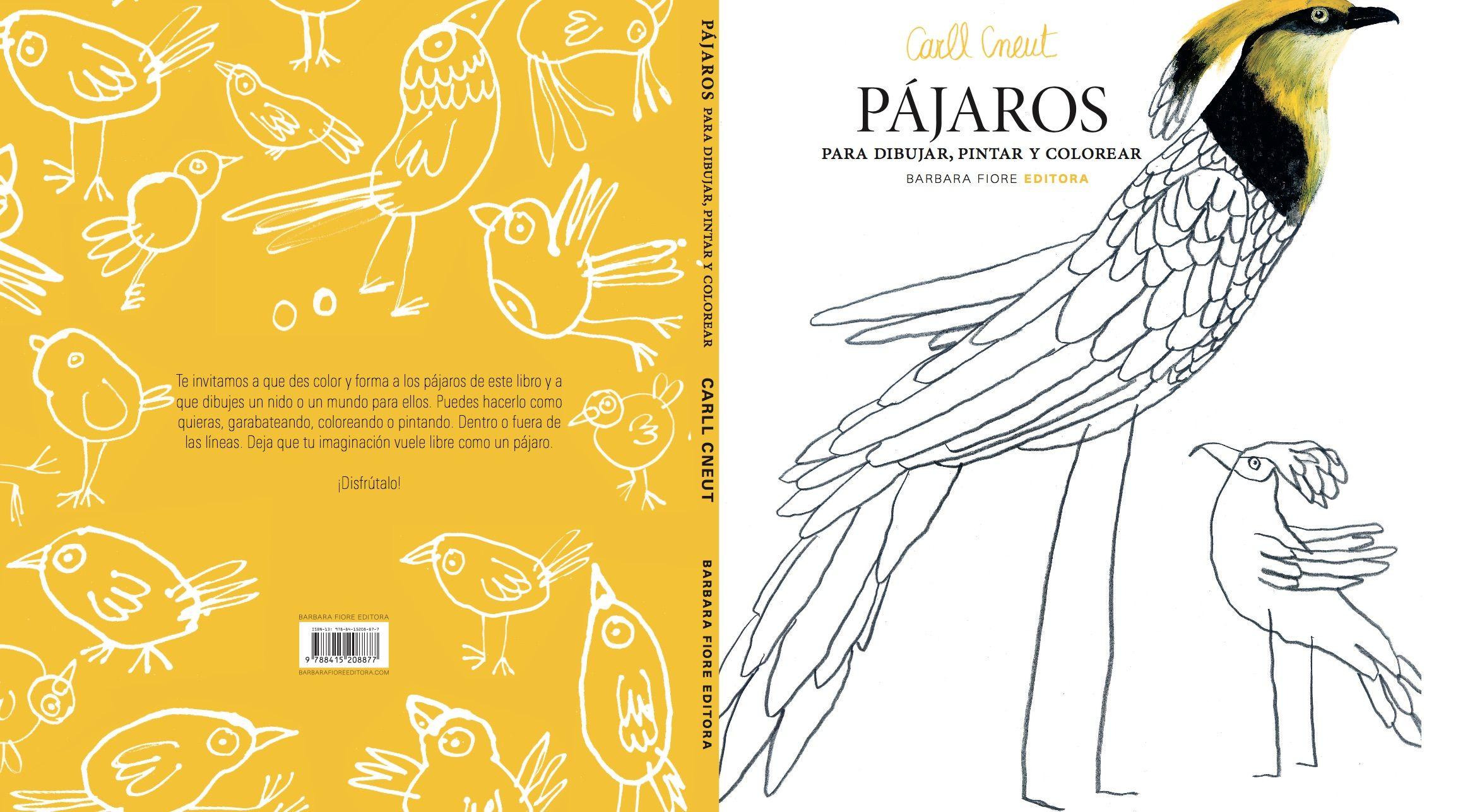 Te invitamos a que des color y forma a los pájaros de este libro y a ...