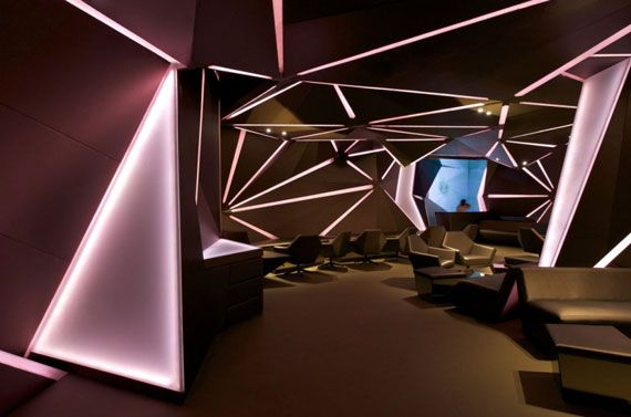 this is an example of shape this interior is made in diamond shape - Shape In Interior Design