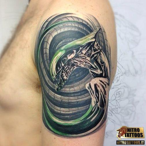 I Tatuaggi Alieni Tatuaggi Tatuaggio Tattoos Tattoo
