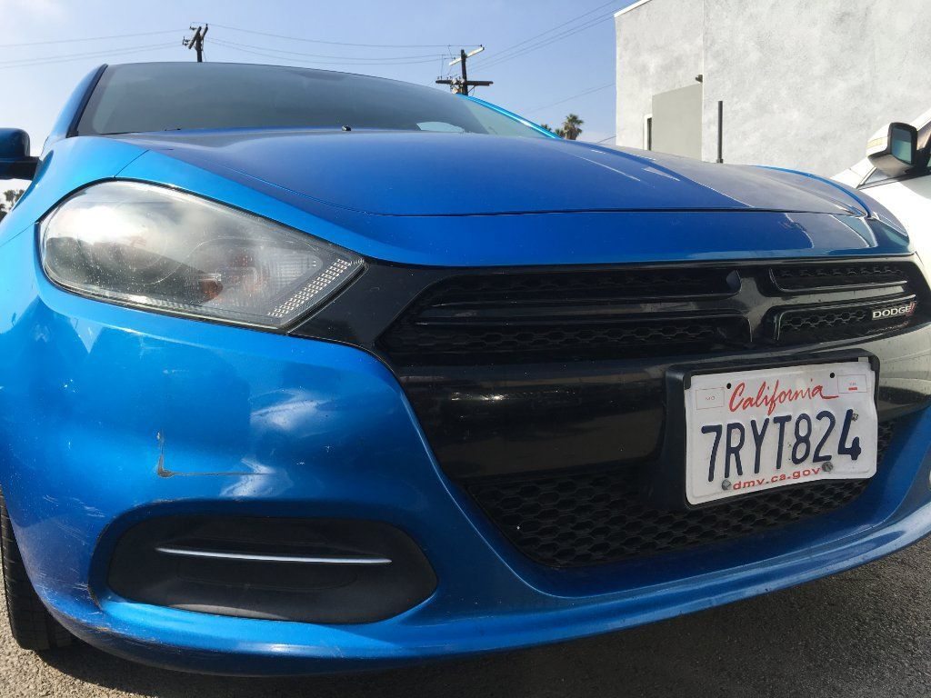 2016 Dodge Dart Limited Sedan Rare Blue 83k Miles Like A Mini