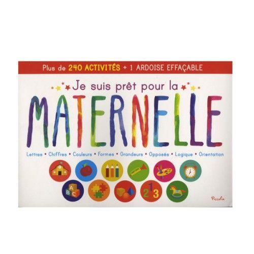 Livre Geant Je Suis Pret Pour La Maternelle Pour Enfant De 2