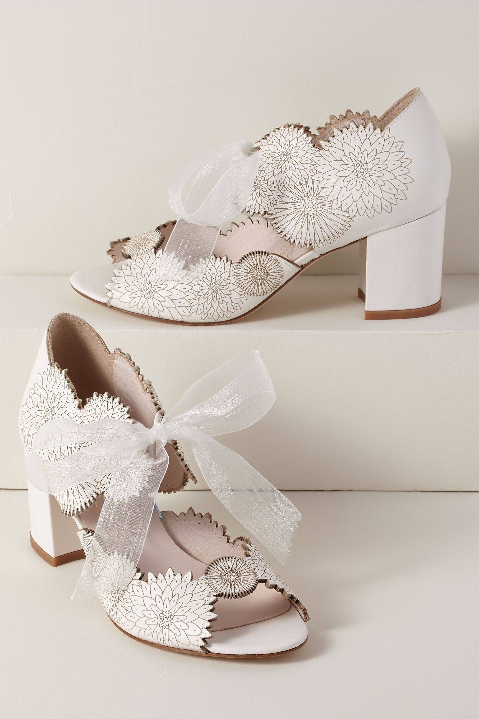 Harriet Wilde Dahlia Heels Summer Wedding Shoes Outdoor Wedding Shoes Bride Shoes