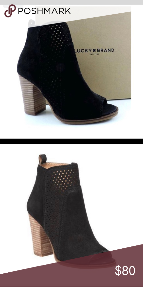lucky brand open toe shoes