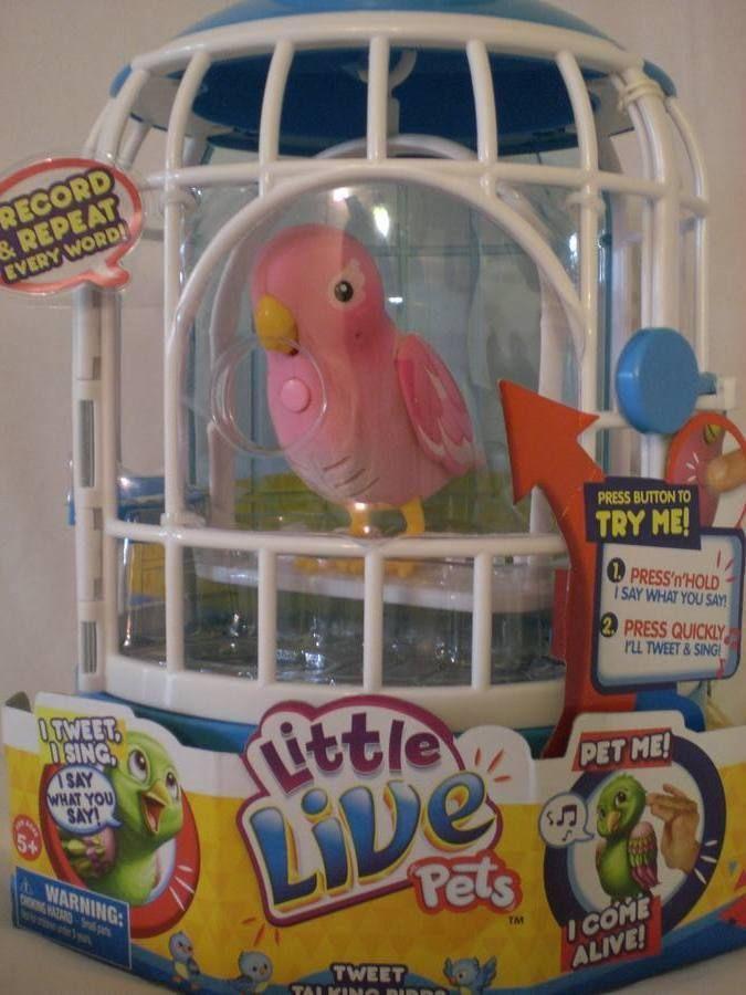 Rare Pink Little Live Pets Bird Cage New Pink Bird Htf Hot Toys Pet Bird Cage Little Live Pets Pink Bird