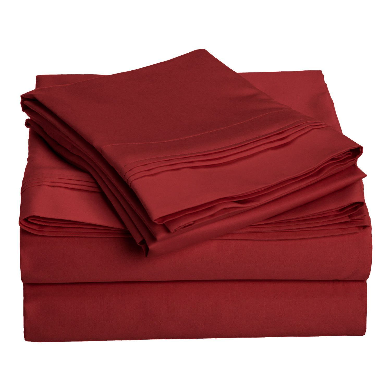 Ferguson 1000 Thread Count Premium Long-Staple Combed Cotton Solid Sheet Set