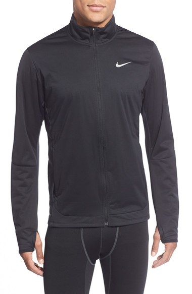 NIKE 'Shield' Zip Front Running Jacket. #nike #cloth #