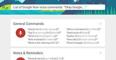 Facebook - google voice commands | Google Resources | Google