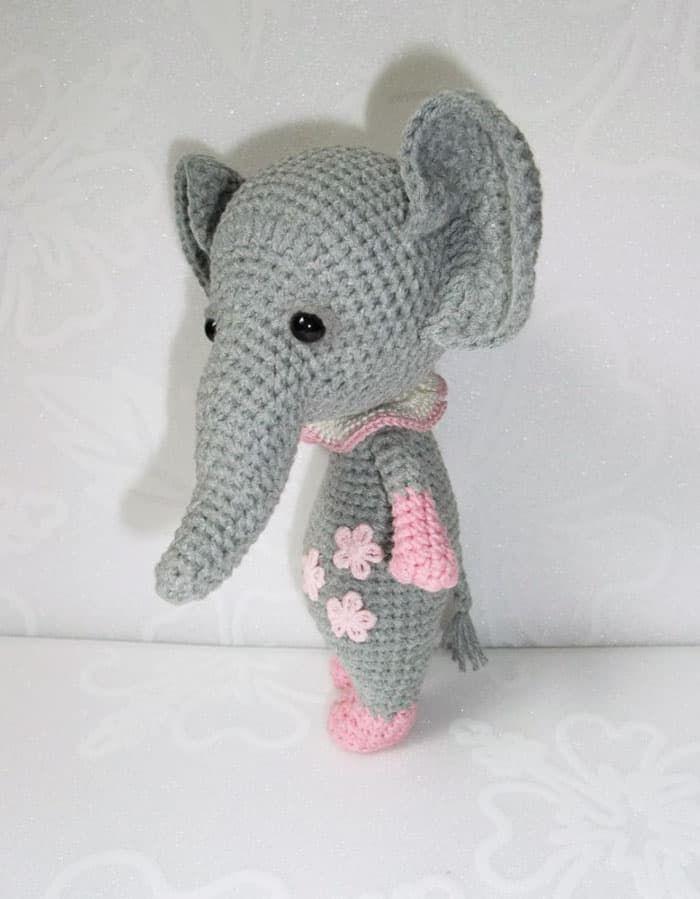 Baby elephant amigurumi pattern | Pinterest | Elefantes bebé ...
