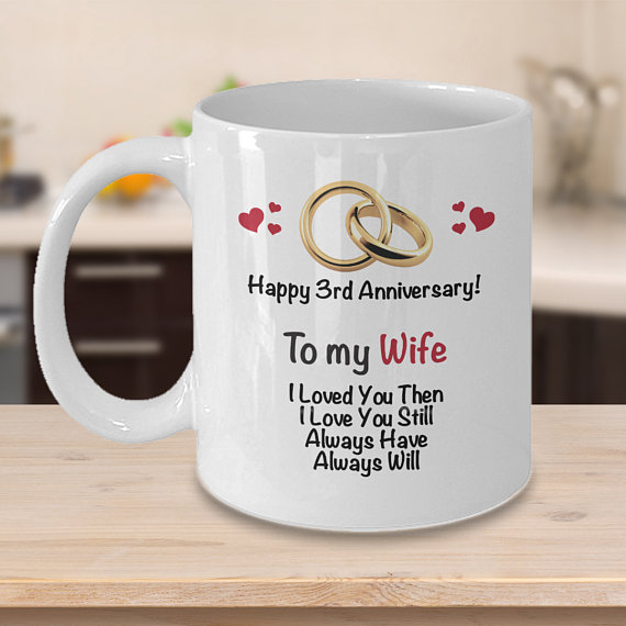 3rd Anniversary Gift Ideas For Wife 3rd Wedding Anniversary 9th Wedding Anniversary 19th Anniversary Gifts Anniversary Gifts