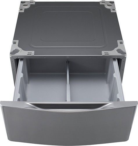 Lg 29 Laundry Pedestal With Storage Drawer Graphite Steel Wdp5v Laundry Pedestal Lg Washer And Dryer Washer And Dryer