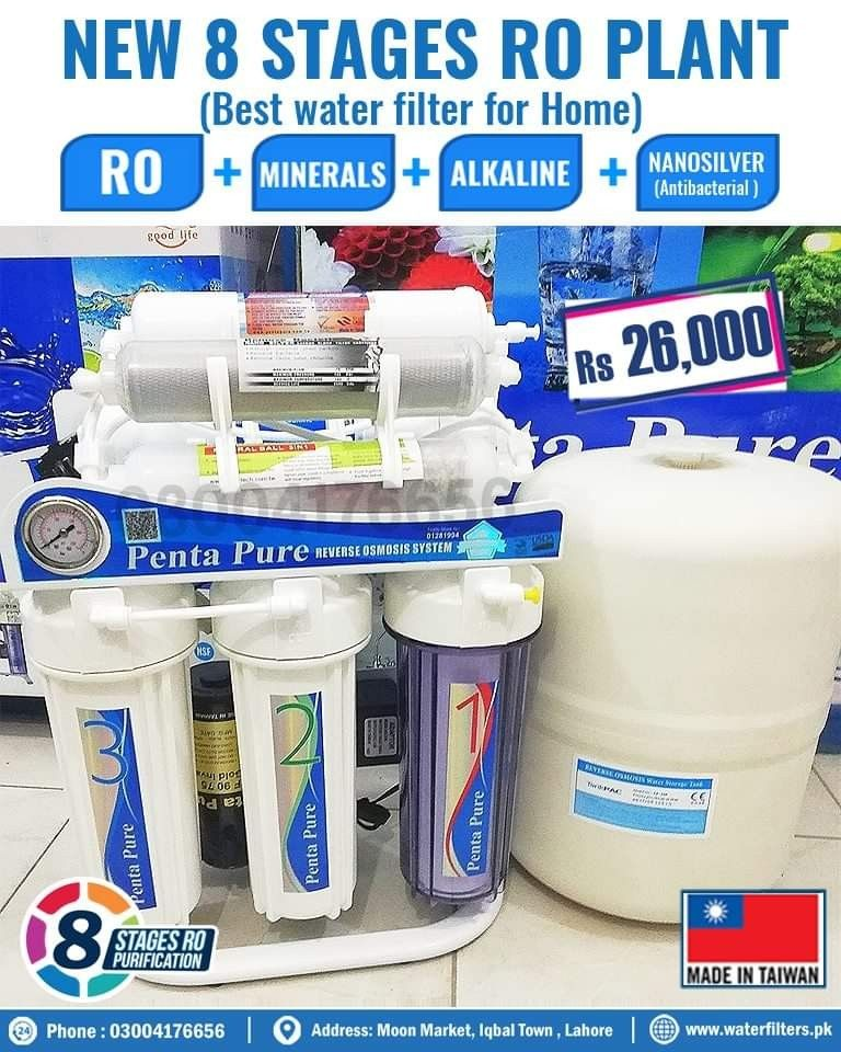 Penta Pure 8 Stages Reverse Osmosis Ro Plant Gives You