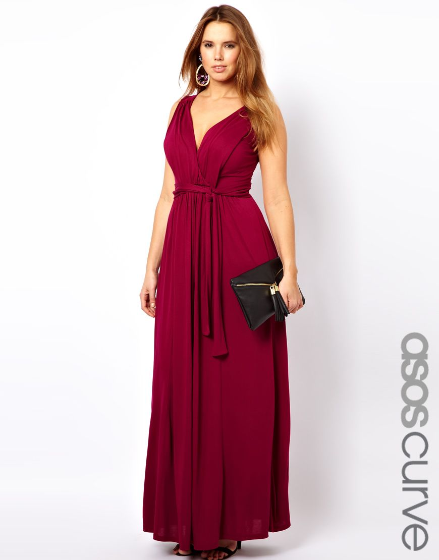 c9a848bb03 ASOS CURVE Exclusive Grecian Maxi Dress Plus Size Chic, Trendy Plus Size  Clothing, Plus