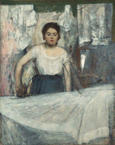 Arte y textiles (con imágenes) | Pinturas de degas, Arte, Edgar degas