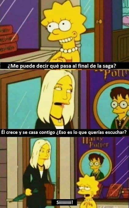 Los Simpson Memes De Harry Potter Los Simpsons Memes De Los Simpson