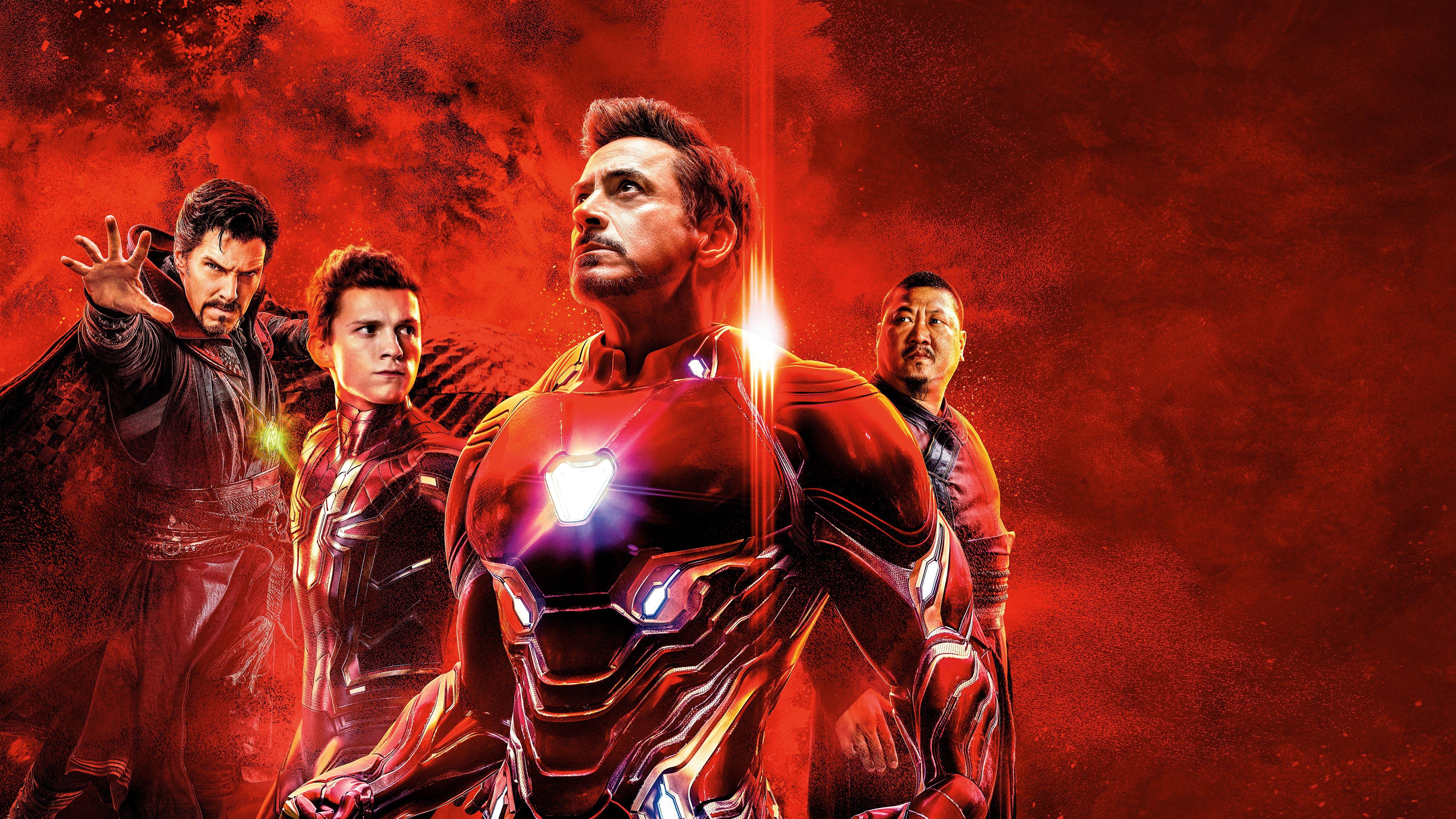 Tony Stark Scarlett Johansson Action Fantasy Superheroes