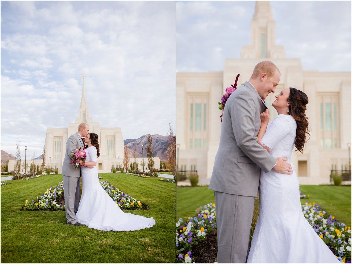 Ogden Temple Utah Temples Wedding