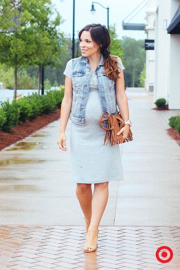 7805aef4bcd3a Perfectly chic for everyday wear, the Liz Lange for Target Maternity Tee  Shirt Dress hugs your bump and flatters your changing curves during and  after ...