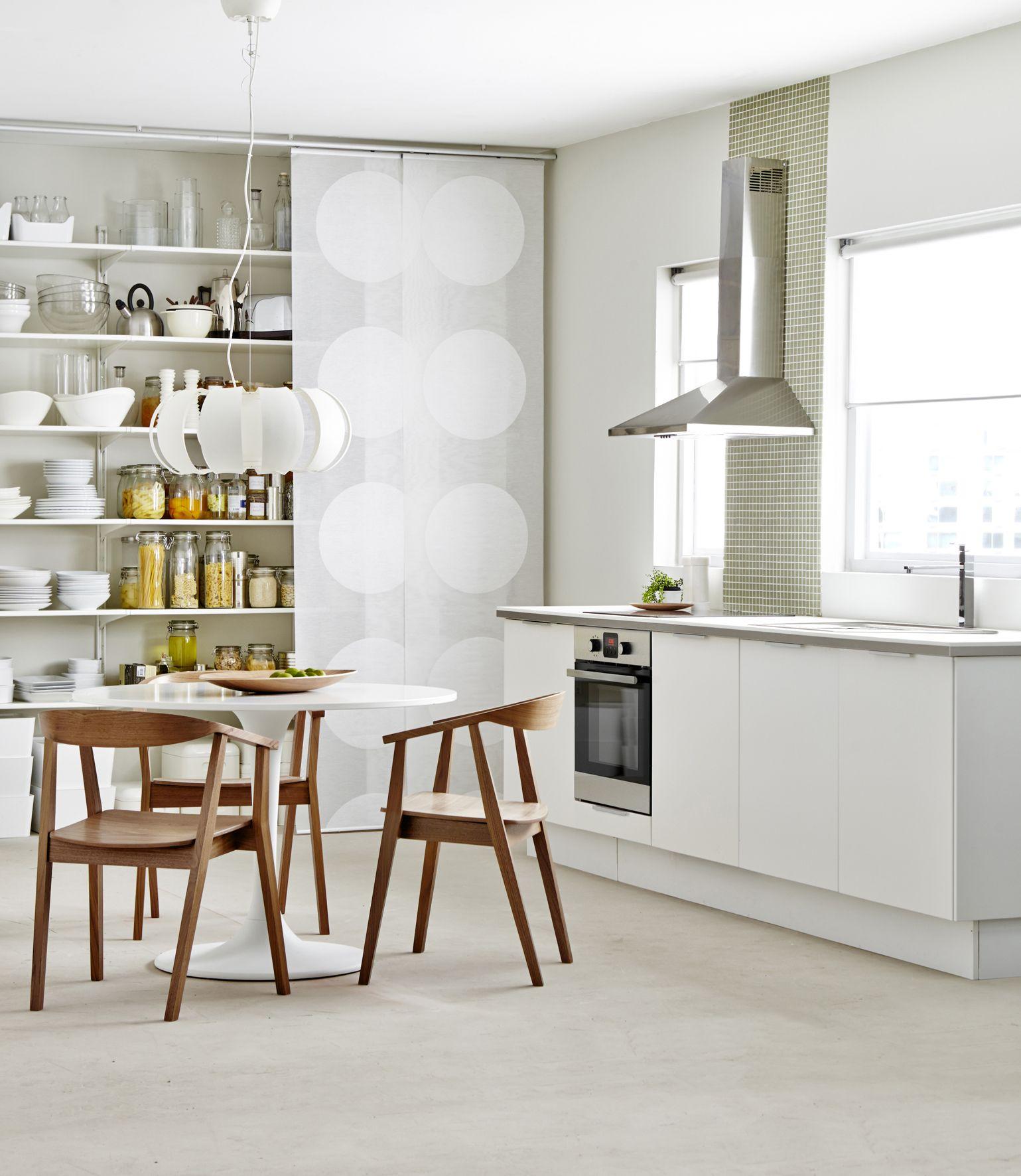Ikea keuken wit. scandinavisch interieur. faktum keukensystemen ...