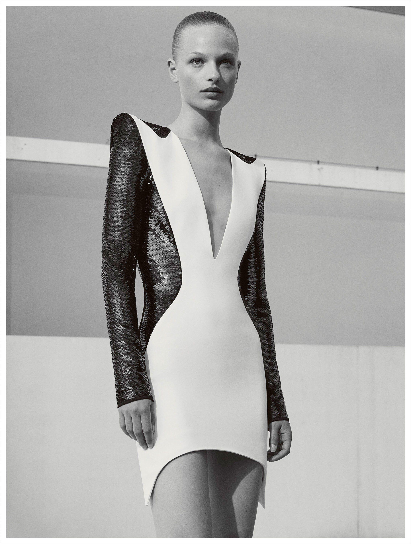 Black and white racewear dresses 2018