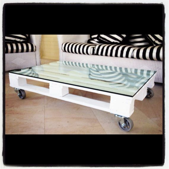 Bespoke Pallet Coffee Table by BelleFurniture on Etsy, $400.00