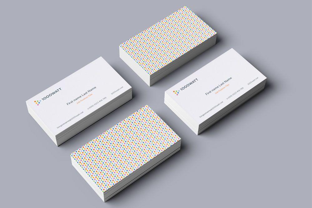 Creative digital agency business cards designg 1000667 creative business card design for marketing agency reheart Choice Image